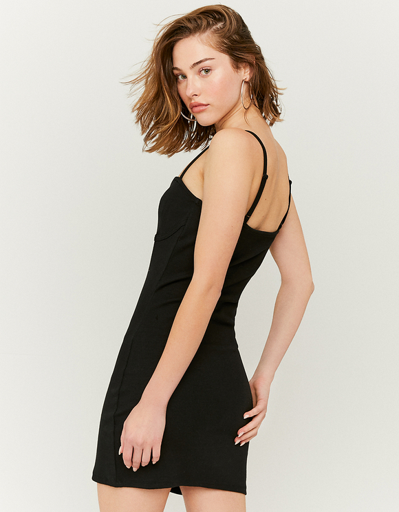 Black Mini Party Dress