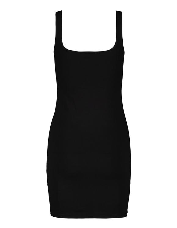 Robe Noire avec Slogan