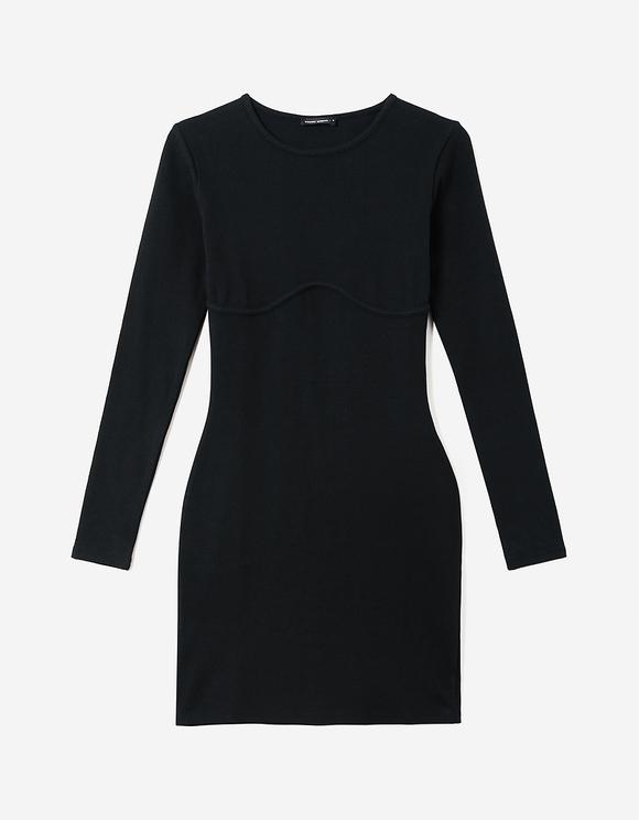 Vestito Aderente a Coste