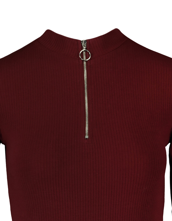 Robe Bordeaux Moulante