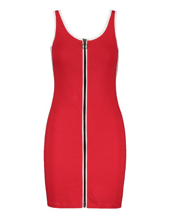 Red Zip Dress