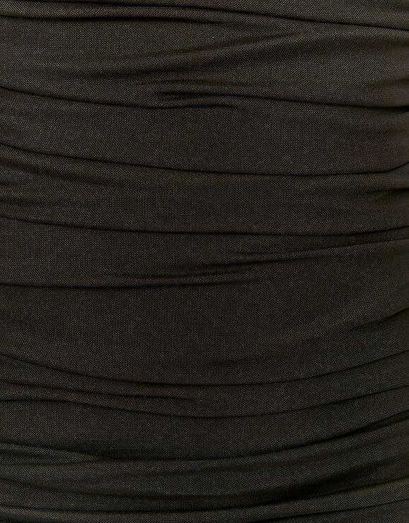 Robe Courte Moulante Noire