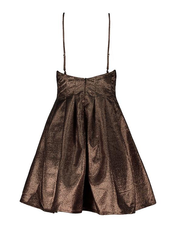 Pinkes ärmelloses Mini Kleid