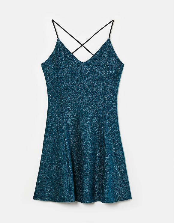 Glitter Strappy Dress