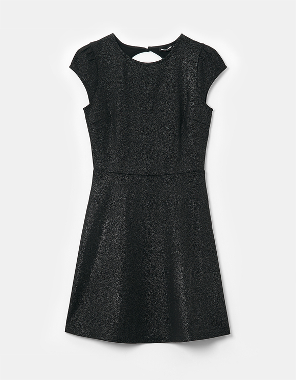 Ausgestelltes Kleid aus Lurex