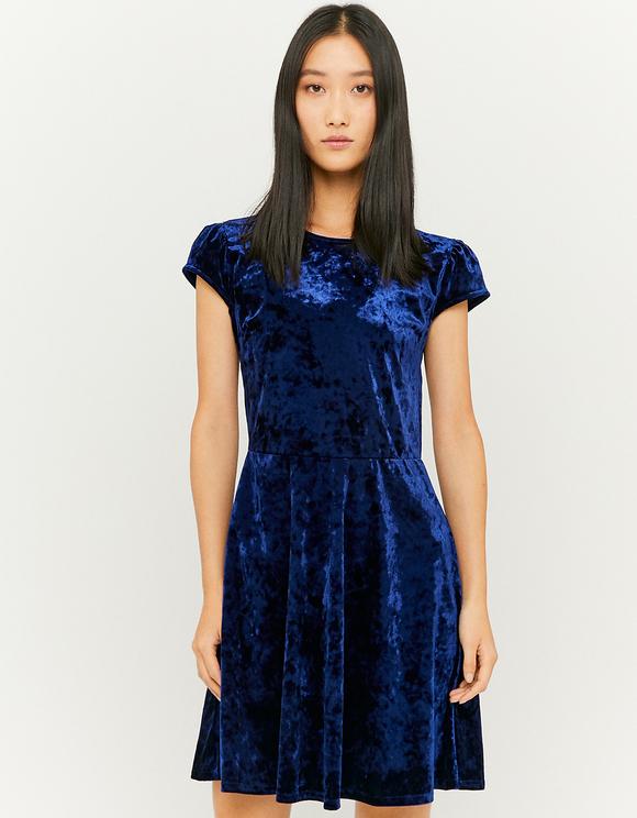 Ausgestelltes Kleid aus Samt | TALLY WEiJL Online Shop