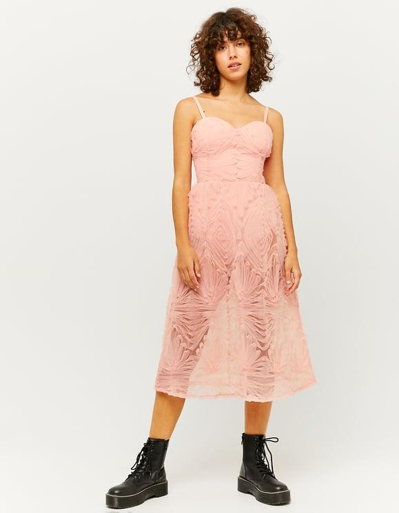 Rozowa Tiulowa Sukienka Midi Tally Weijl Online Shop