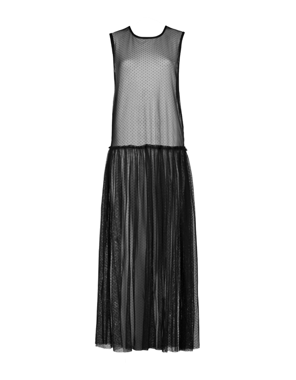 Long Transparent Dress
