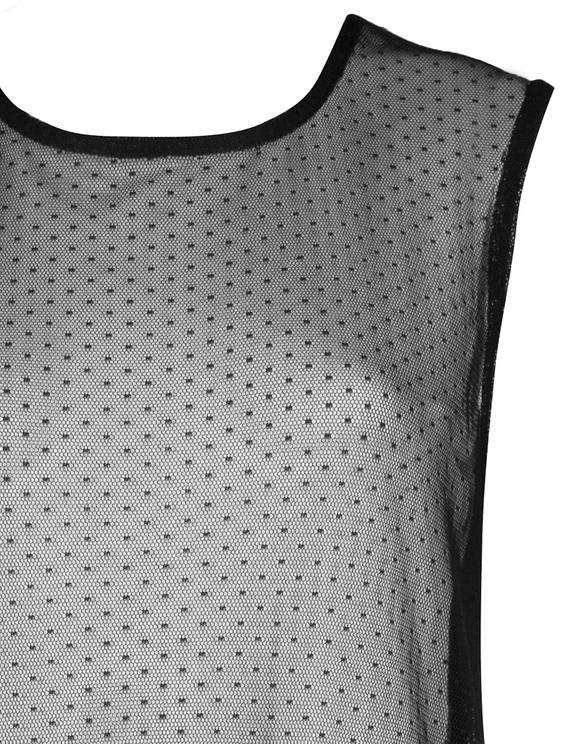 Long Transparent Dress