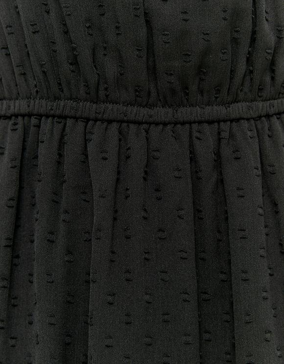Robe Courte Volantée en Chiffon