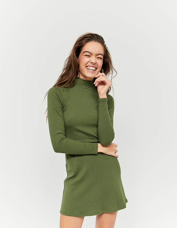 Robe Courte Verte