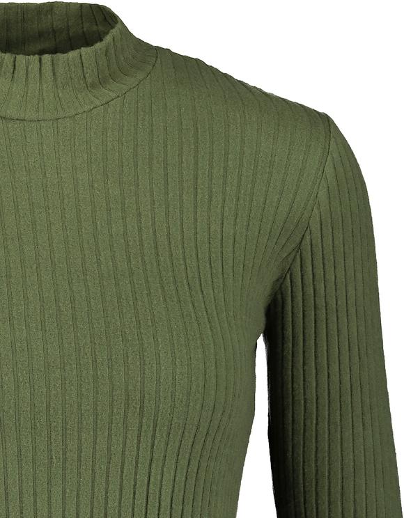 Robe Verte Dos Ouvert
