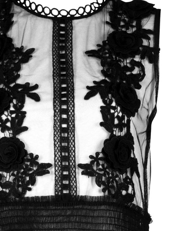 Robe Longue en Tulle