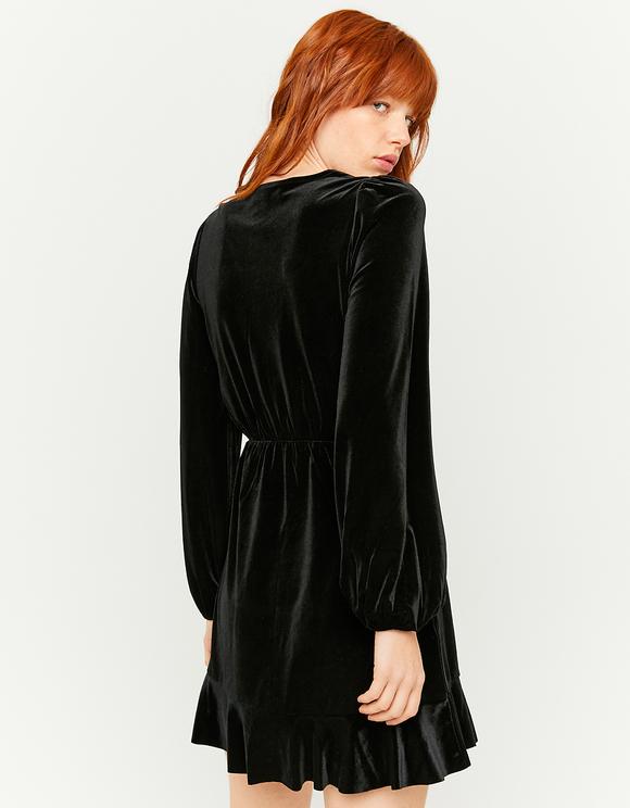 Wrap Velvet Dress
