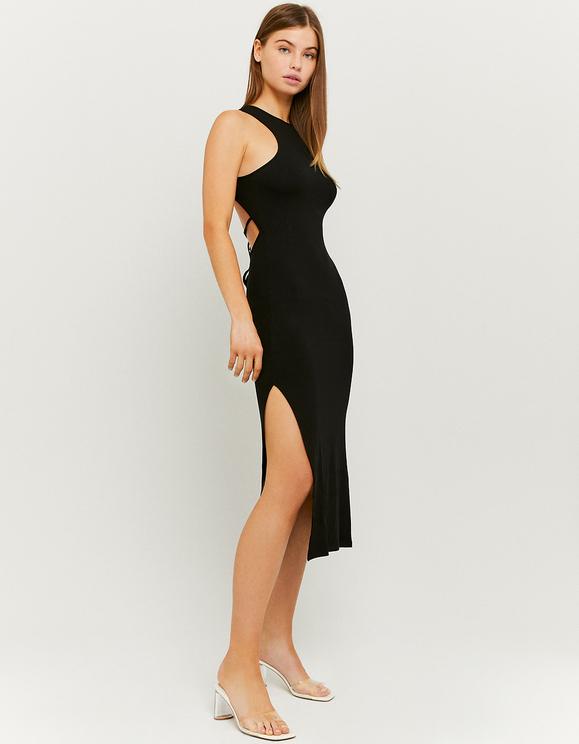 Langes Ruckenfreies Kleid Mit Schlitz Tally Weijl Online Shop