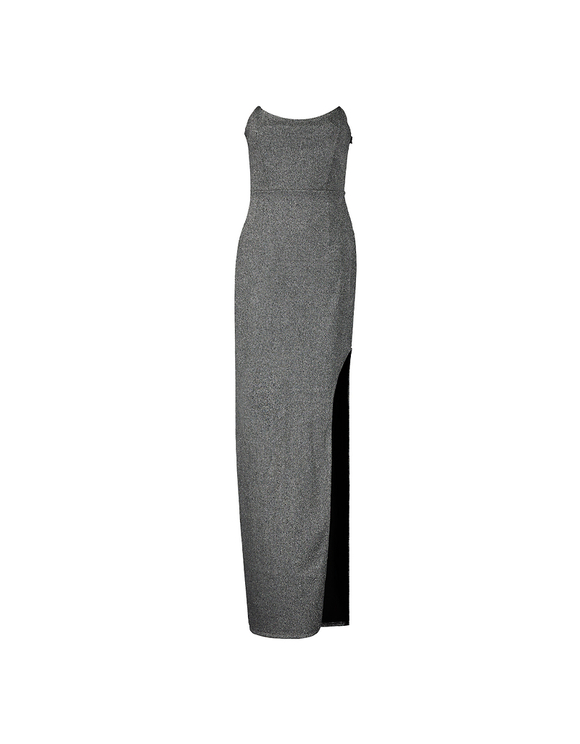 Maxi Dress aus Lurex
