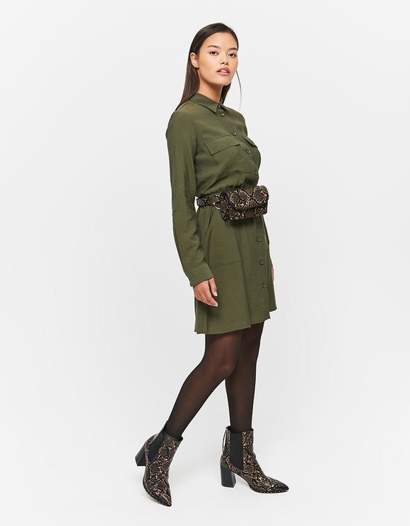 Zielona sukienka Cargo