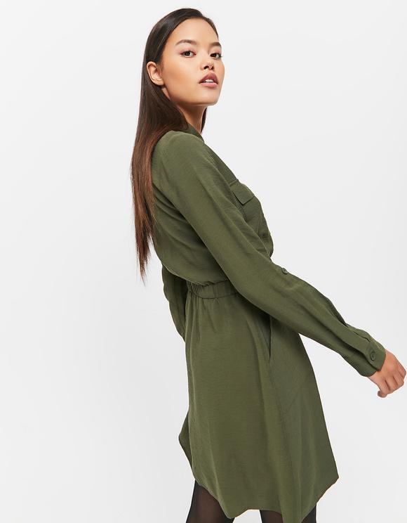 Vestito Verde Cargo