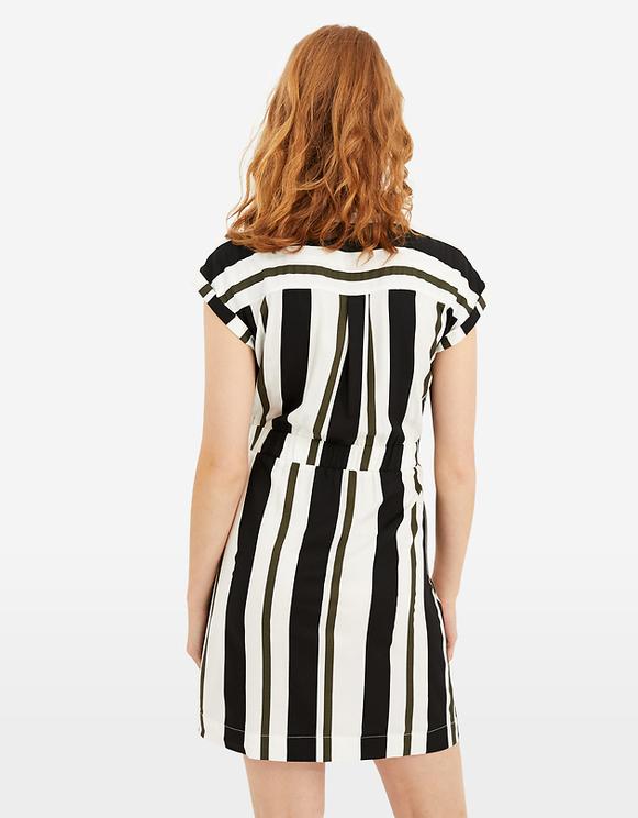 Sukienka koszulowa z nadrukiem