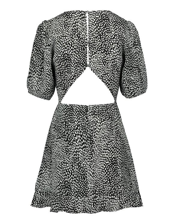Robe Courte Imprimé Tacheté