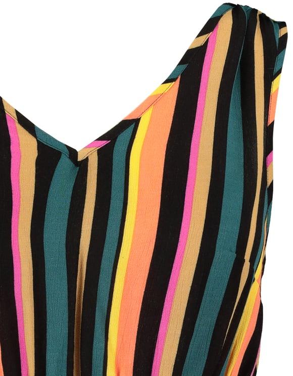 V-neck Stripe Dress