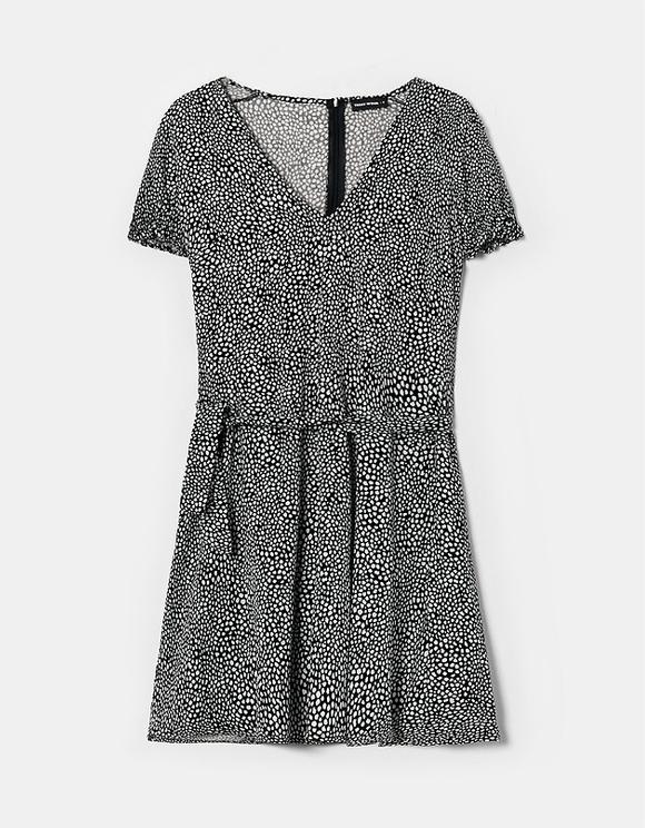 Kleid mit Aufdruck