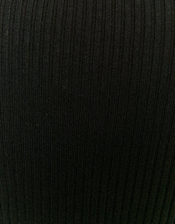 Robe en Maille Noire