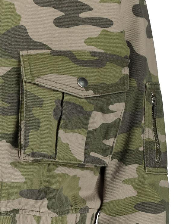 Utility Cropped Jacket