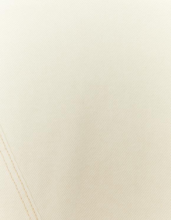 Kurtka jeansowa ze sztucznym misiem