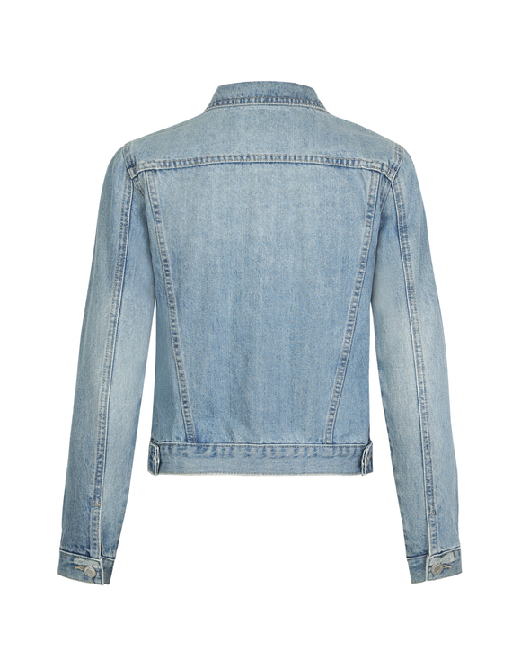 Hellblaue Jeans Jacke