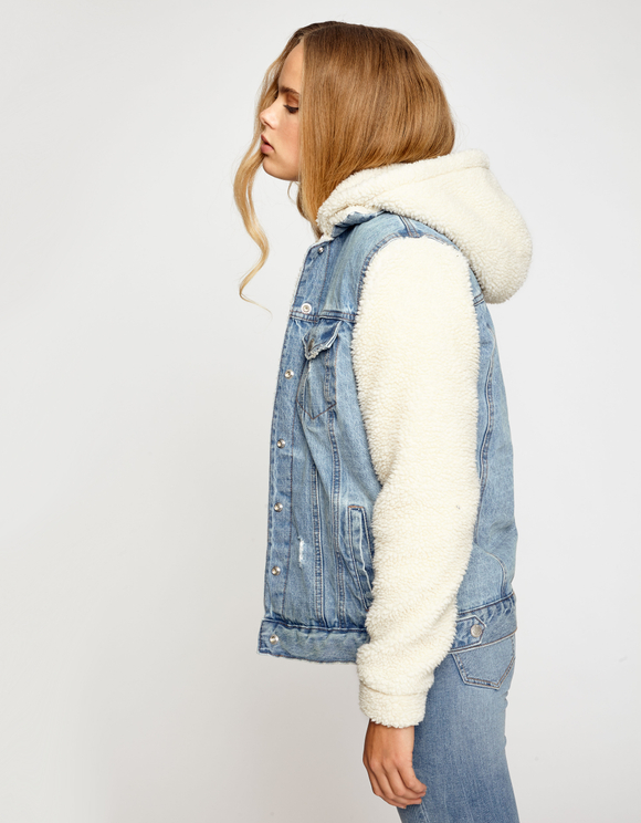Denim & Teddy Jacket