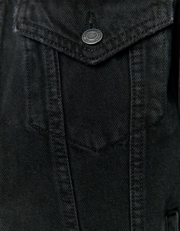 Oversize Denim Jacke