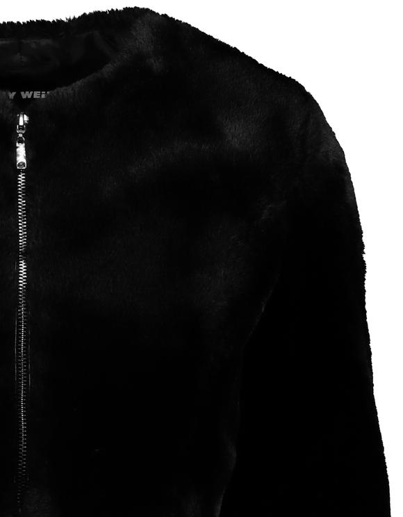 Crop Faux Fur Jacket