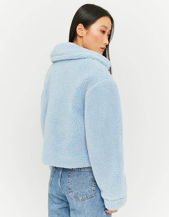 Blue Teddy Jacket