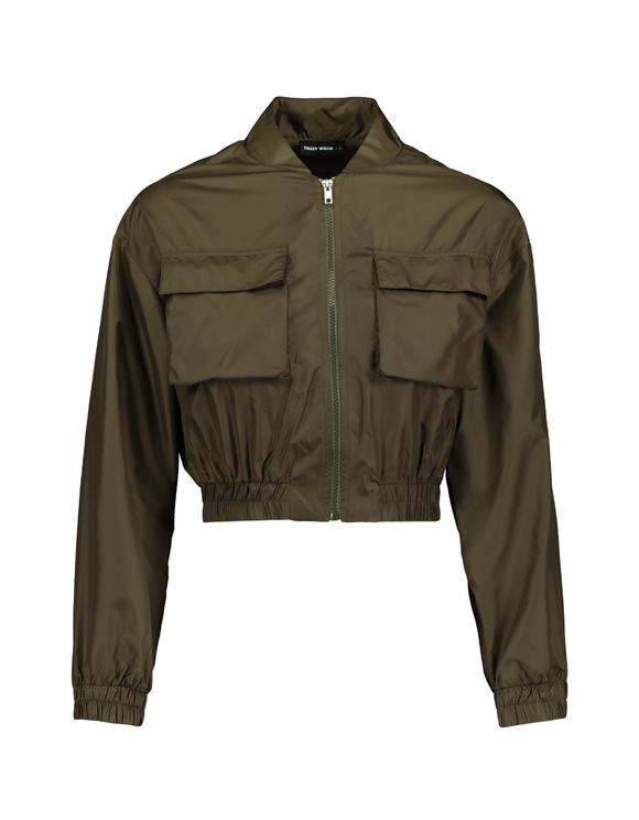 Bomber Jacket  with Elasticated Waist