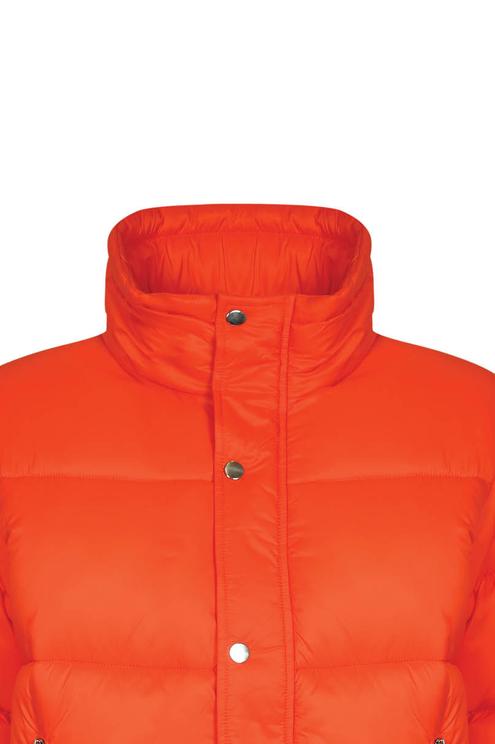 Orange Puffer Jacket