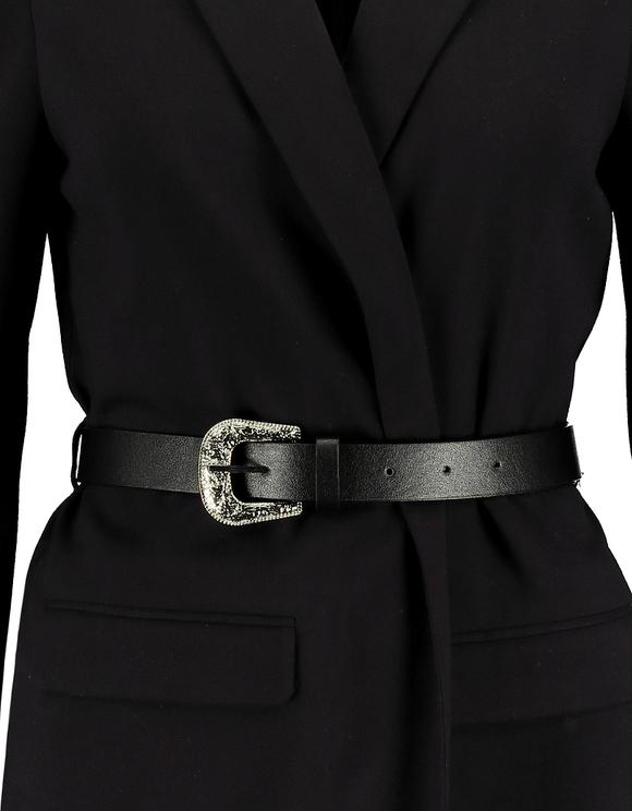 Belted Longline Blazer