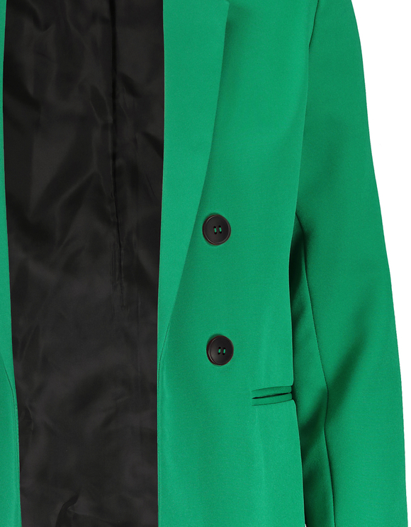 Blazer Croisé Vert