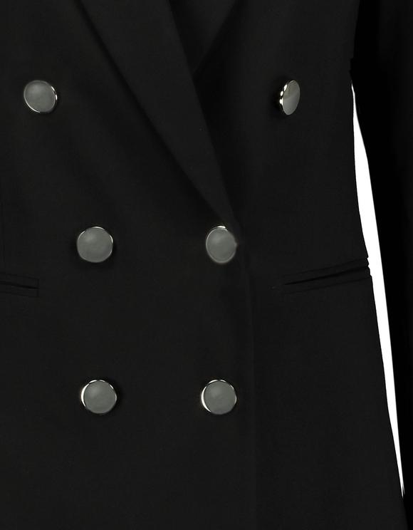 Longline Double Breasted Blazer