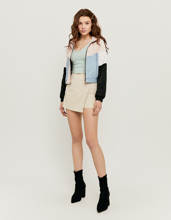 Veste Coupe Vent Color Block