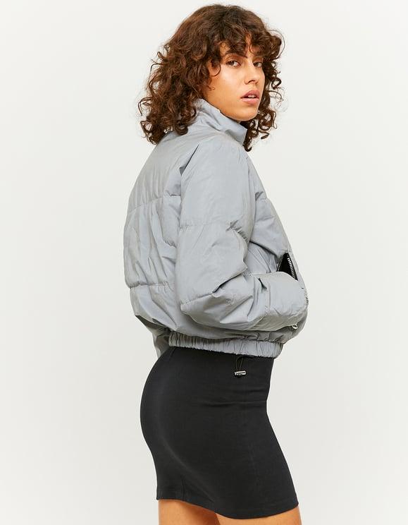 Gray Puffer Jacket