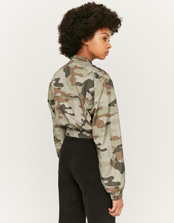 Camouflage Windjacke