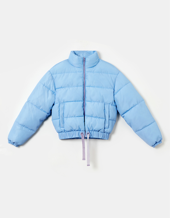 Water Reactive Puffer Jacket