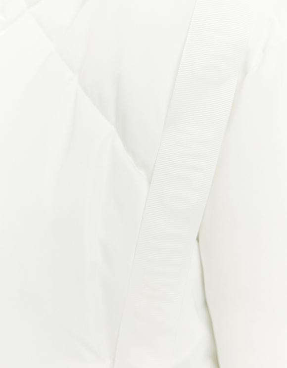 White Puffer Jacket