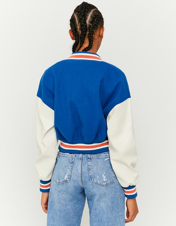 Giacca Varsity Blu