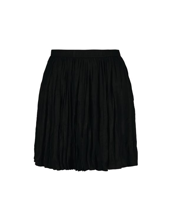 Pleated Black Skirt