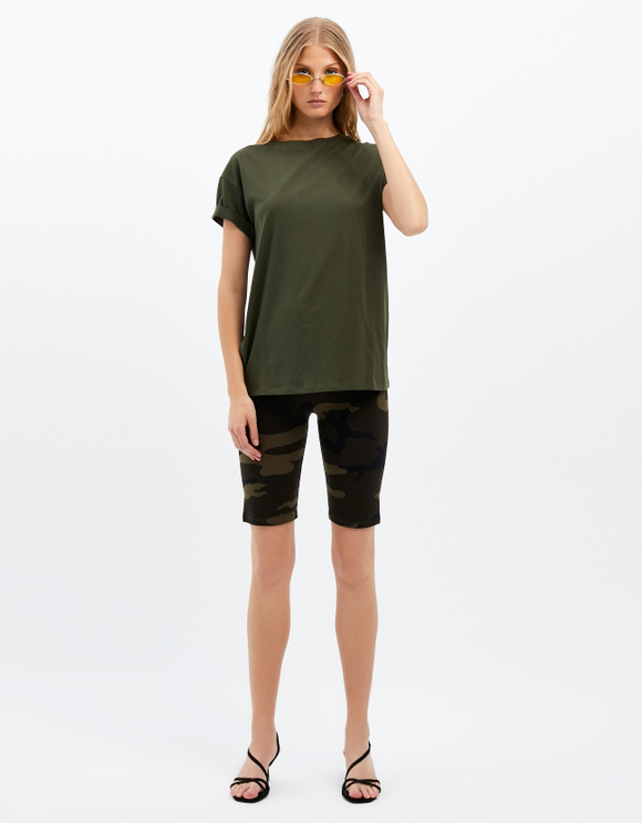 Short Cycliste Camouflage