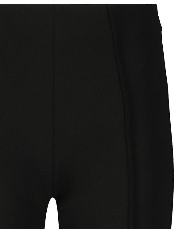Legging Noir Habillé & Évasé