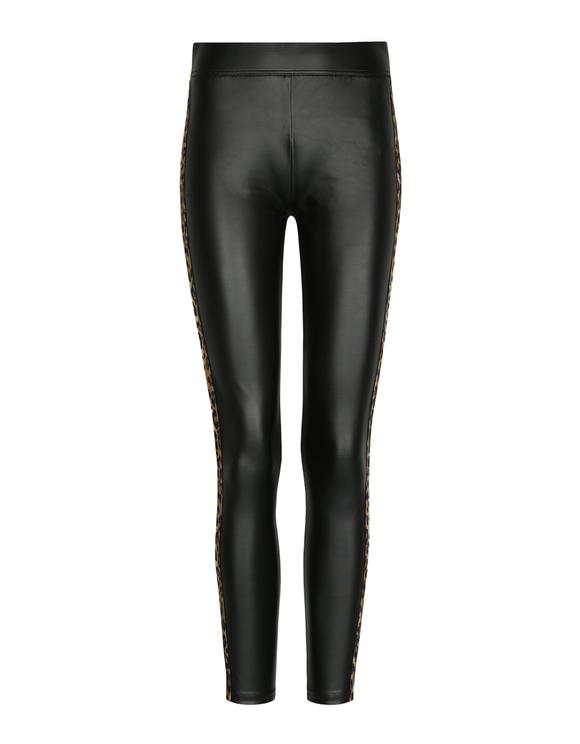 Black Faux Leather Leggings