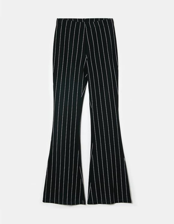 Legging Taille Haute Flare Noir